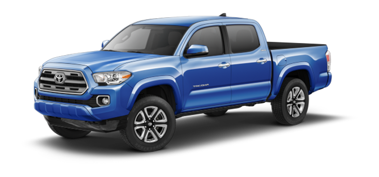 2017 Toyota Tacoma Double Cab Automatic Limited 4 Door Rwd Pickup Colorsoptionsbuild