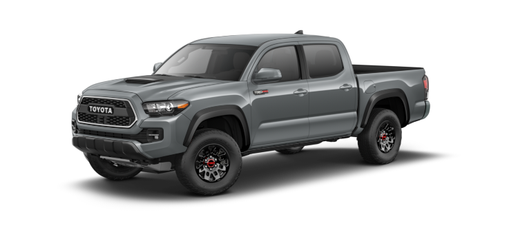 2017 Toyota Tacoma Double Cab Manual Trd Pro 4 Door 4wd Pickup Colorsoptionsbuild