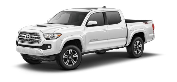 create new roads in the 2017 toyota tacoma double cab automatic trd sport rwd 4 door pickup. Black Bedroom Furniture Sets. Home Design Ideas