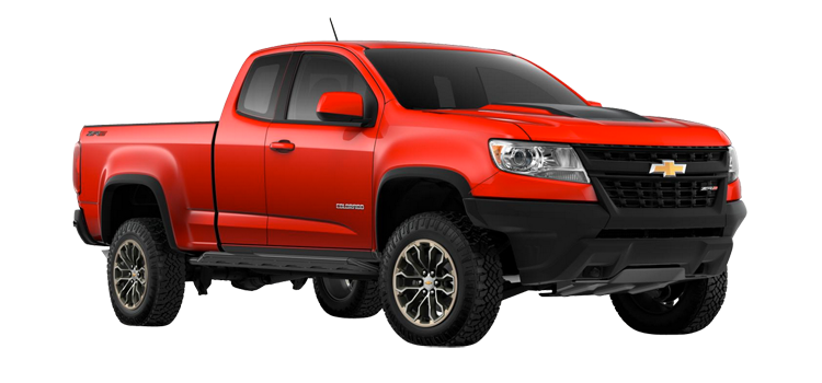 2018 Chevrolet Colorado Extended Cab Zr2 4wd 4 Door 4wd Pickup