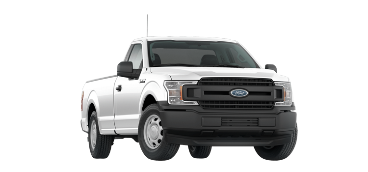 2018 Ford F-150 Regular Cab 8' Box XL