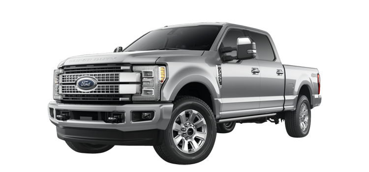 2018 Ford Super Duty F-250 Crew Cab 6.75' Box Platinum