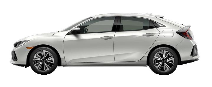 The 2018 Honda Civic 1.5T L4 EX FWD 5 Door Hatchback