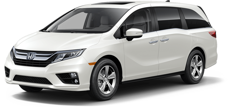 2018 Honda Odyssey With Rear Entertainment System and Navigation EX-L