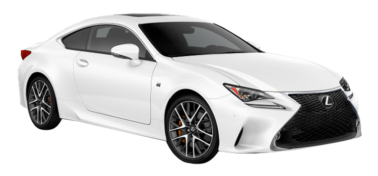 2018 lexus rc 350 2-door awd coupe standardequipment