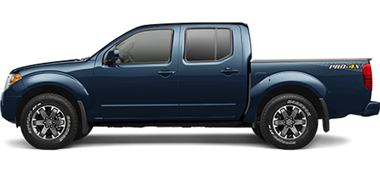 2018 Nissan Frontier Crew Cab 4.0L Manual PRO-4X 4-Door 4WD Pickup ColorsOptionsBuild