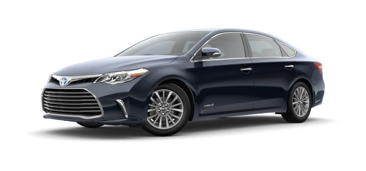 2018 toyota avalon hybrid limited 4 door fwd sedan c colorsoptions. Black Bedroom Furniture Sets. Home Design Ideas