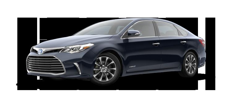2018 Toyota Avalon Hybrid Xle Premium 4 Door Fwd Sedan Colorsoptionsbuild