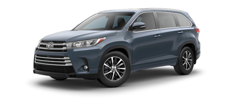 2018 Toyota Highlander V6 Xle 4 Door Fwd Suv Colorsoptionsbuild