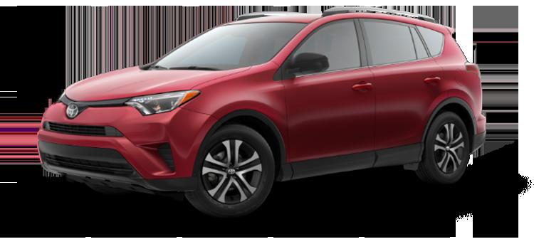 2018 Toyota Rav4 Le 5 Door Awd Suv Colorsoptionsbuild
