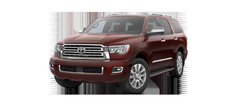 2018 Toyota Sequoia Ffv Platinum 5 Door 4wd Suv Colorsoptionsbuild