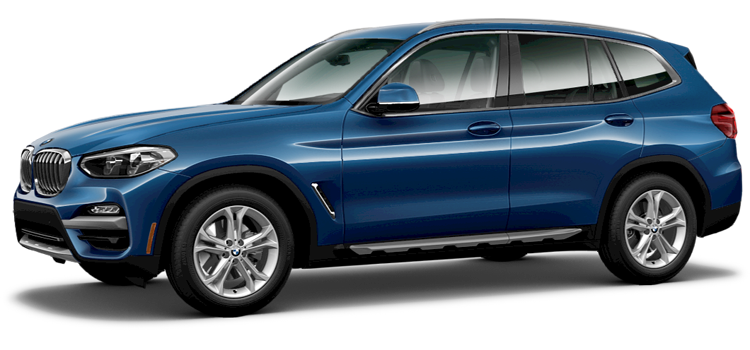 2019 BMW X3 sDrive30i 4-Door RWD SUV StandardEquipment