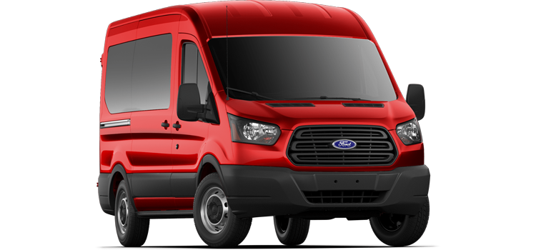 2019 Ford Transit Wagon Medium Roof, Sliding Pass. 130 WB 150 XL