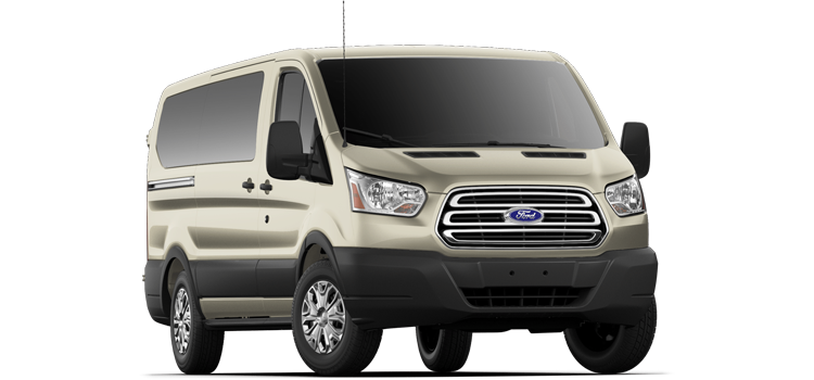 Austin Ford - 2019 Ford Transit Wagon Low Roof, Sliding Pass. 130 WB 150 XLT