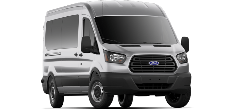 Hutto Ford - 2019 Ford Transit Wagon Medium Roof, Sliding Pass. 148 WB 350 XL