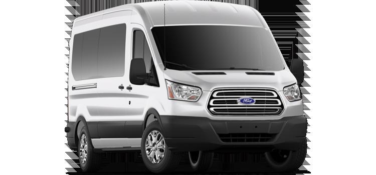 Austin Ford - 2019 Ford Transit Wagon Medium Roof, Sliding Pass. 148 WB 350 XLT