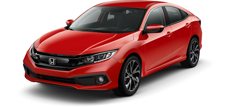 2019 Honda Civic Sport 4D Sedan