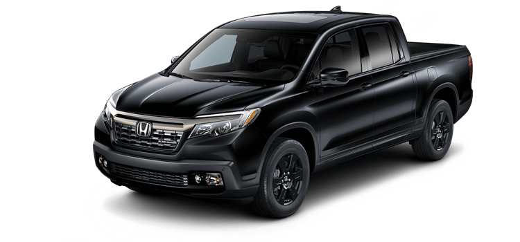 Seek Out The Night In The 2019 Honda Ridgeline With Leather And Navigation  Black Edition AWD 4 Door Pickup