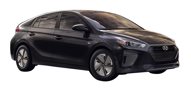 2019 Hyundai Ioniq Hybrid Blue 4D Hatchback