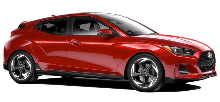 2019 Hyundai Veloster 1.6L Turbo GDI 4 Cylinder Turbo 3 Door FWD Hatchback  StandardEquipment