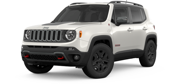 2019 Jeep Renegade Trailhawk White