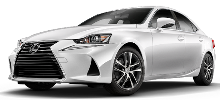 2019 Lexus IS 300 4D Sedan