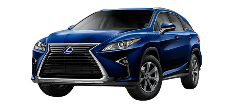 2019 Lexus RX 450hL Luxury 4-Door AWD SUV StandardEquipment