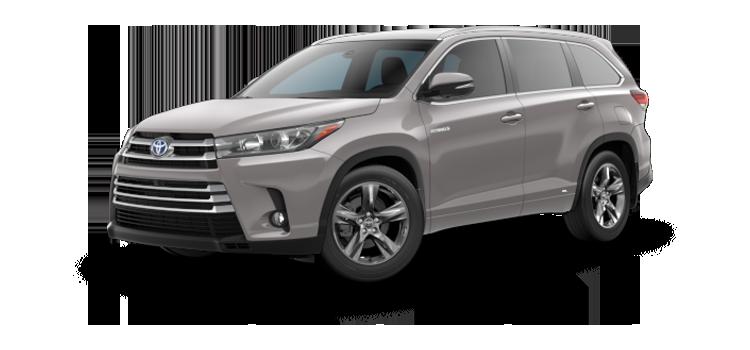 2019 Toyota Highlander Hybrid Limited Platinum 4D Sport Utility