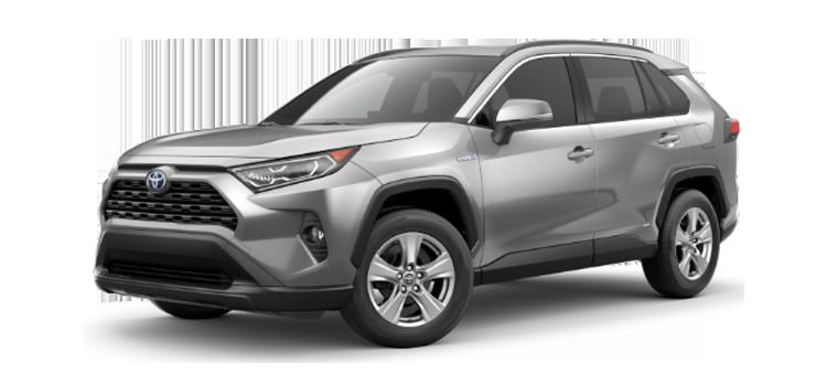 2019 Toyota RAV4 Hybrid XLE 4D Sport Utility