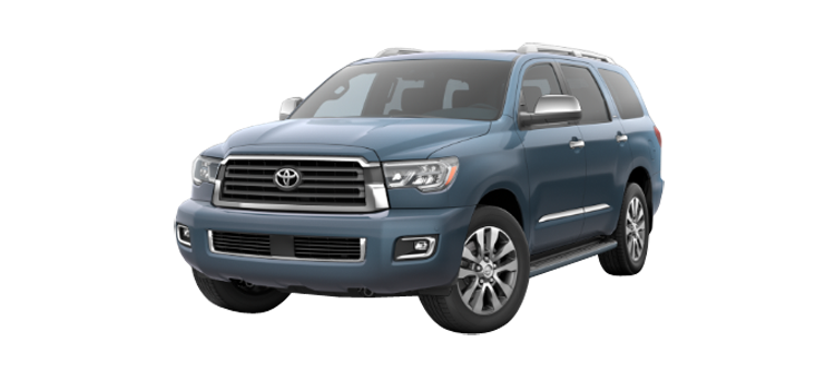 2019 Toyota Sequoia At Sterling Mccall Toyota Take A Trip In The