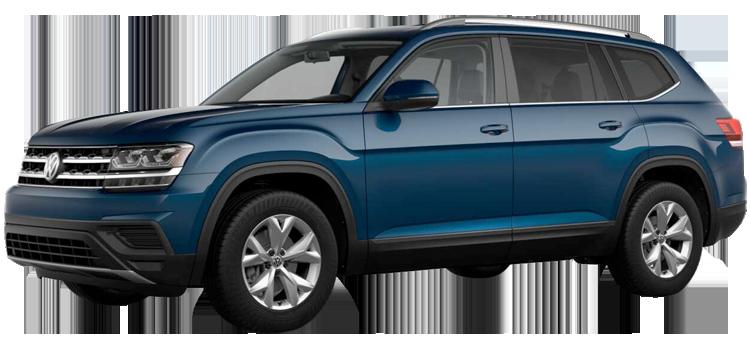 2019 Volkswagen Atlas S 4D Sport Utility