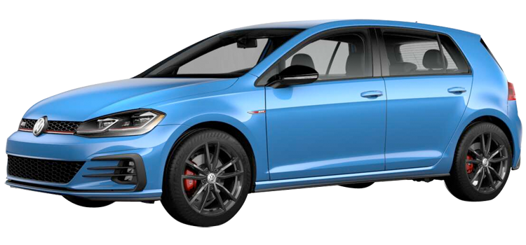 2019 Volkswagen Golf GTI 2.0T Rabbit Edition 4D Hatchback
