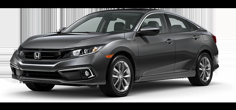 2020 Honda Civic EX 4D Sedan