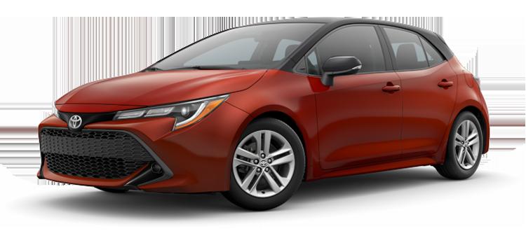2020 Toyota Corolla Hatchback SE 5D Hatchback