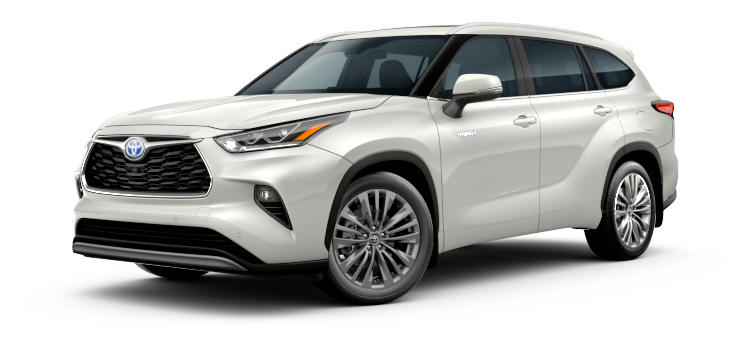 2020 Toyota Highlander Hybrid Platinum 4D Sport Utility