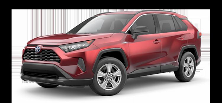 2020 Toyota RAV4 Hybrid LE AWD