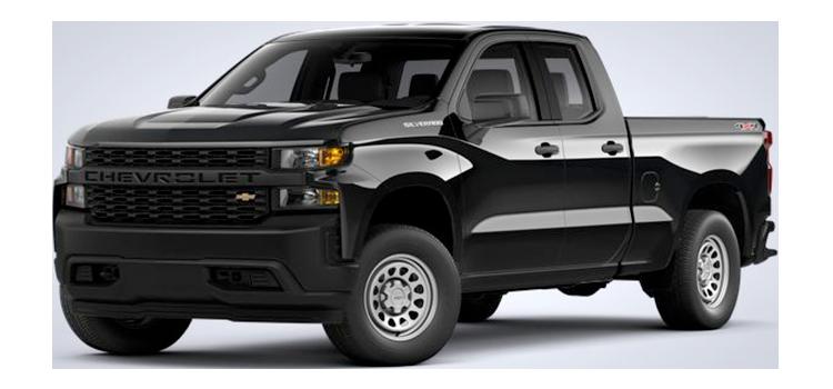 2021ChevroletSilverado 1500 Double Cab