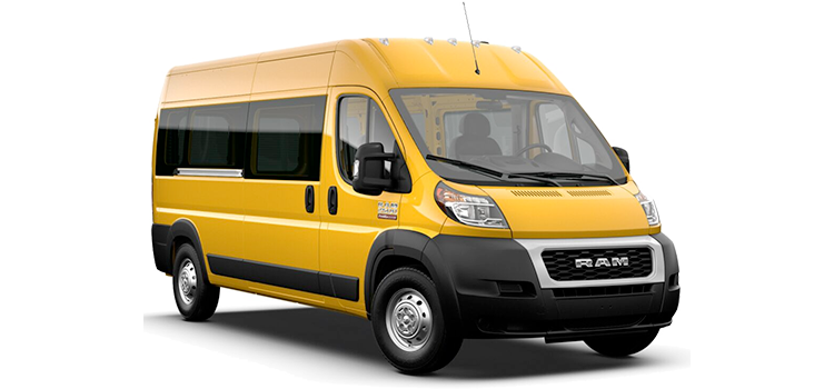 2021RamPromaster Window Van
