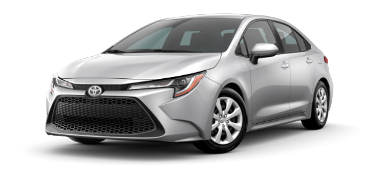 2021 Toyota Corolla LE 4D Sedan