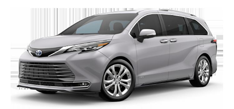 2021 Toyota Sienna Platinum 4D Passenger Van