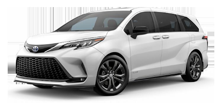 2021 Toyota Sienna XSE 4D Passenger Van
