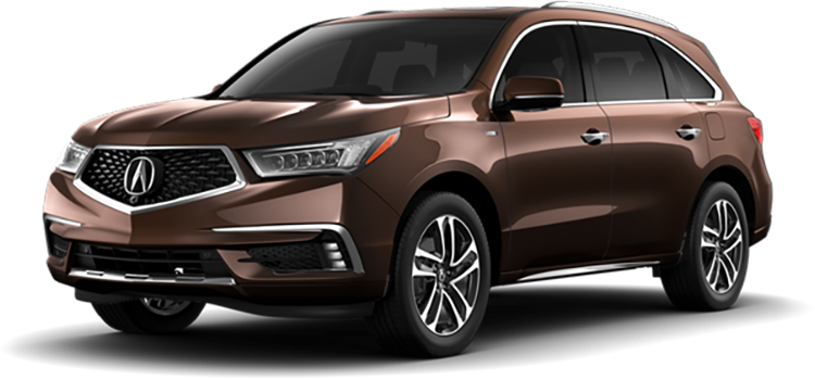 2020 Acura MDX Sport Hybrid with Advance Package SH-AWD 5 ...