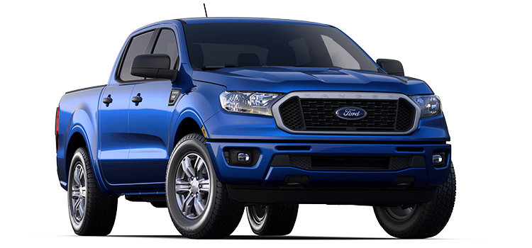 2020 Ford Ranger Supercrew Xlt 4 Door Rwd Pickup Options
