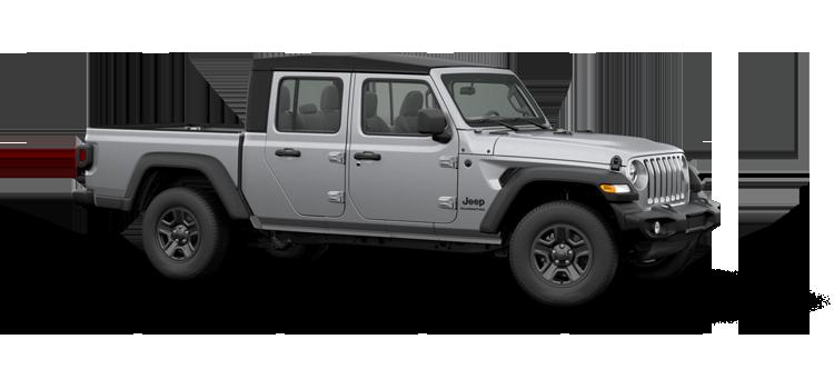 2020 Jeep Gladiator Sport 4 Door 4wd Pickup Options
