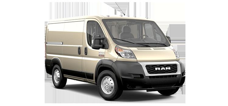 2020 Ram Promaster Cargo Van Low Roof 118 Wb 1500 4 Door Fwd Van Specifications