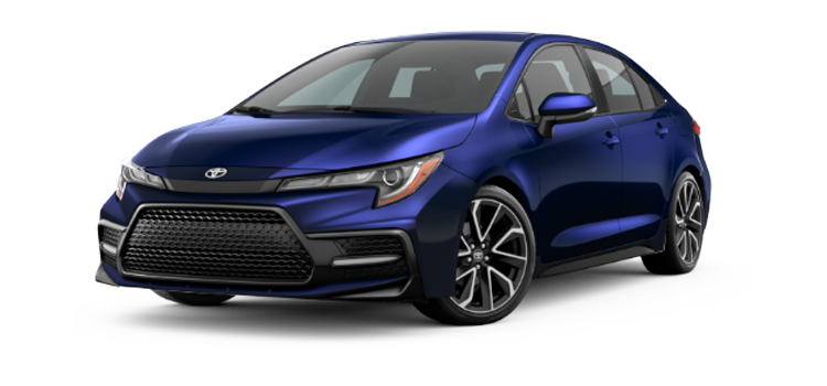 2020 toyota corolla se 4-door fwd sedan standardequipment