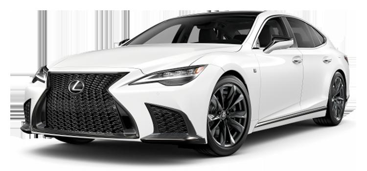 2021 Lexus Ls 500 Ls 500 F Sport 4 Door Rwd Sedan Options